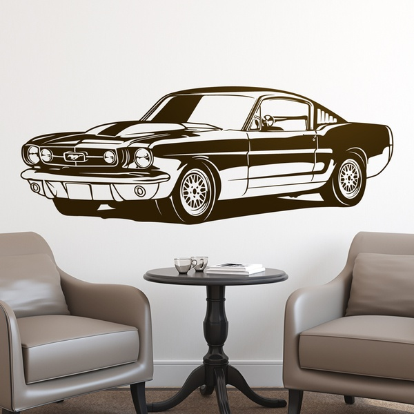 Stickers muraux: Ford Mustang Shelby GT350 - 1966 0