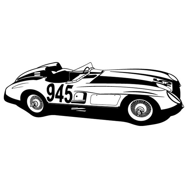 Stickers muraux: Ferrari 250 testa rossa - 1957