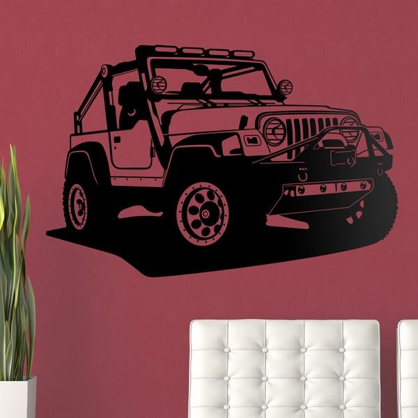 Stickers muraux: Jeep Wrangler
