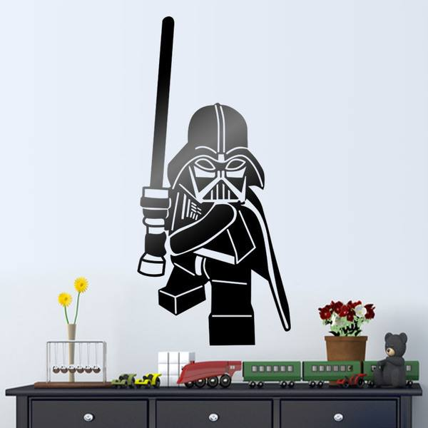 Stickers pour enfants: Lego Darth Vader chiffre