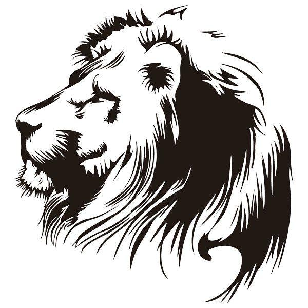 Stickers muraux: Lionhead