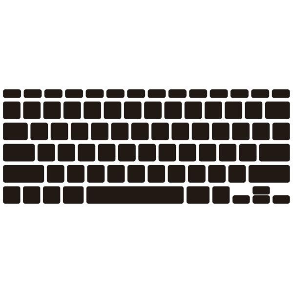 Stickers muraux: Clavier d ordinateur portable