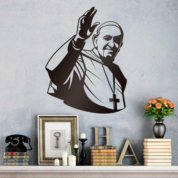 Stickers muraux: papa Francisco