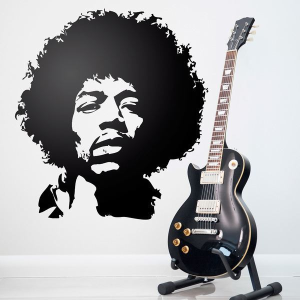 Stickers muraux: Symbole Jimi Hendrix