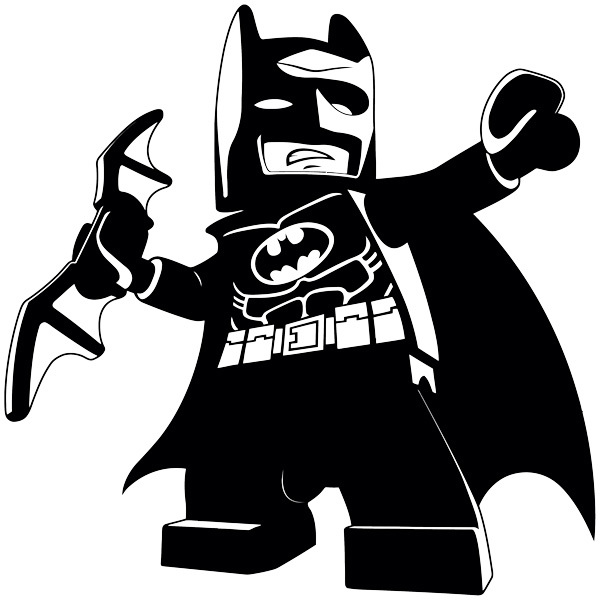 Stickers pour enfants: Figure Lego Batman