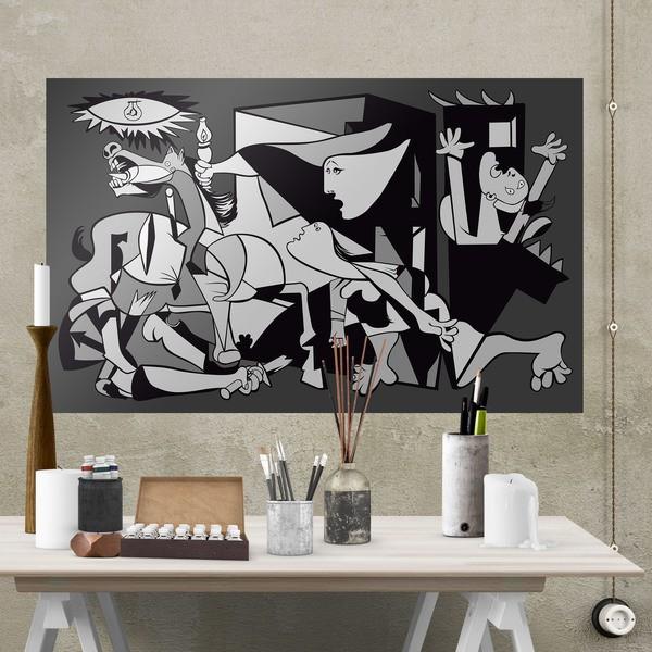 Stickers muraux: Poster adhésif Gernika Picasso