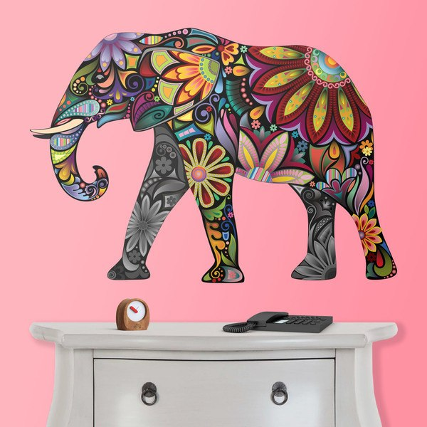 Stickers muraux: Éléphant indien