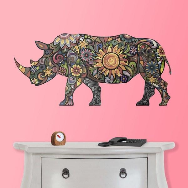 Stickers muraux: Hippopotamus hindoue