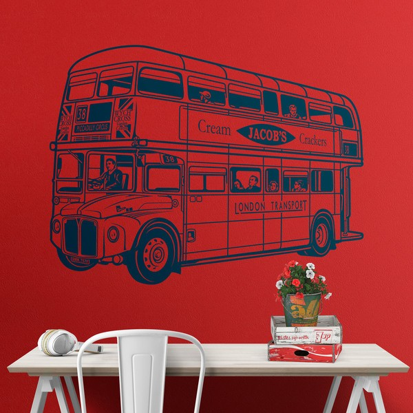 Stickers muraux: Bus Routemaster