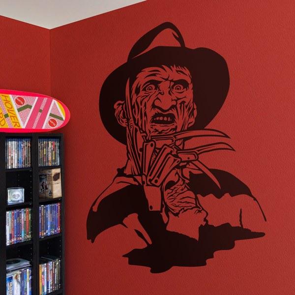 Stickers muraux: Freddy Krueger