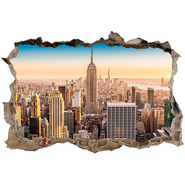 Stickers muraux: Trou New York