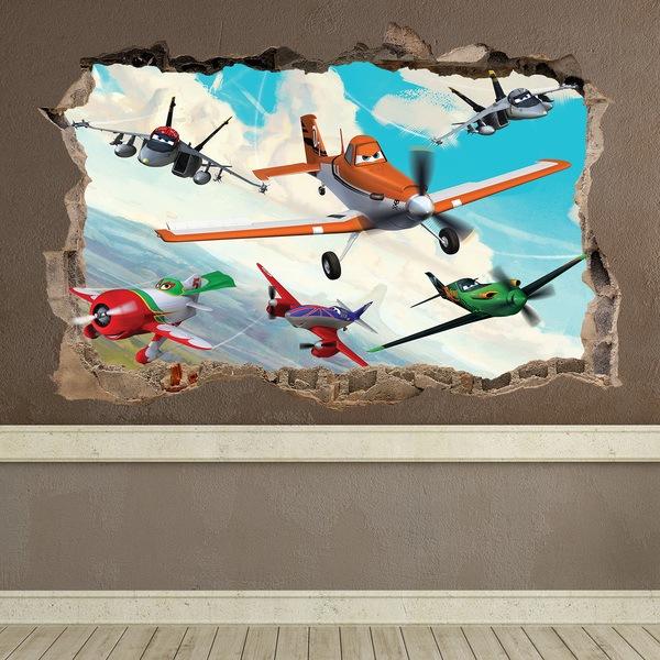 Stickers muraux: Loch Planes