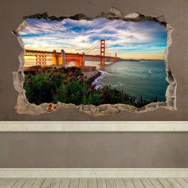 Stickers muraux: Loch Golden Gate San Francisco