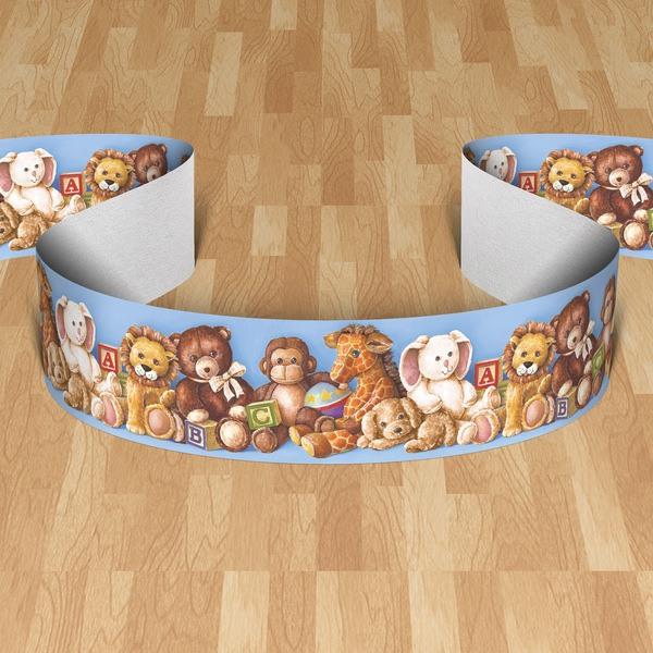 Stickers pour enfants: Frise murale Bears