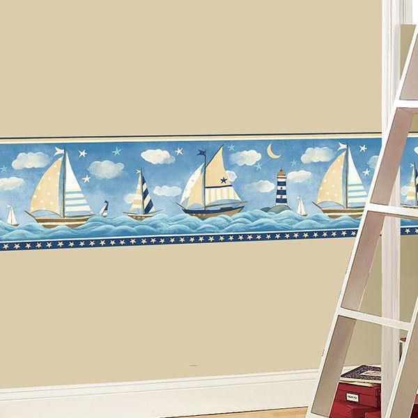Stickers muraux: Frise murale Livraison