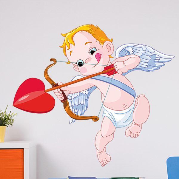 Stickers pour enfants: Bébé Cupidon