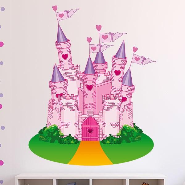 Stickers pour enfants: Le Château de l Amour