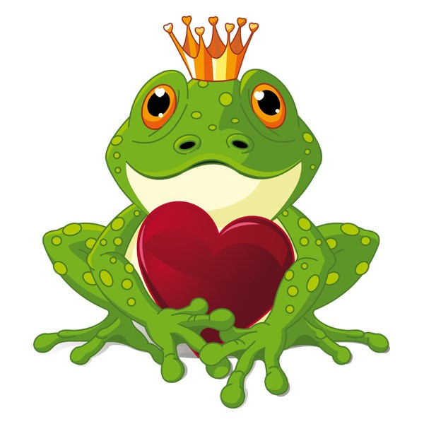 Stickers pour enfants: Prince Grenouille