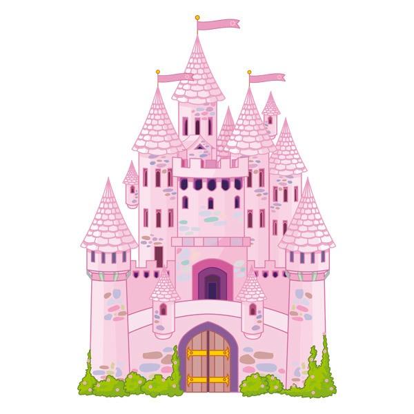 Stickers pour enfants: Le Château du Prince