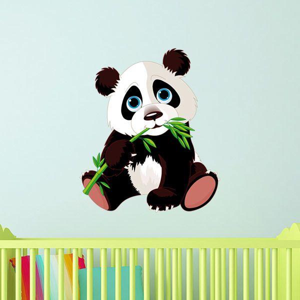 Stickers pour enfants: Ourson Panda