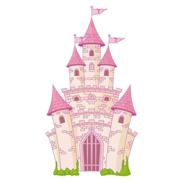Stickers pour enfants: Le château fantastique