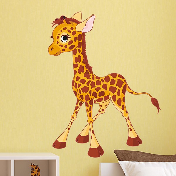 Stickers pour enfants: Girafe 5