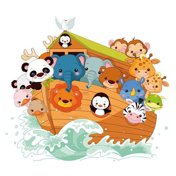 Stickers pour enfants: Arche de Noé 2