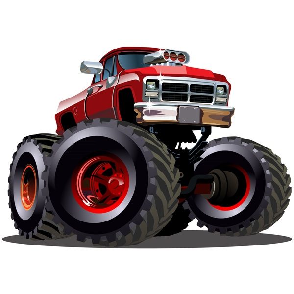Stickers pour enfants: Monster Truck 16