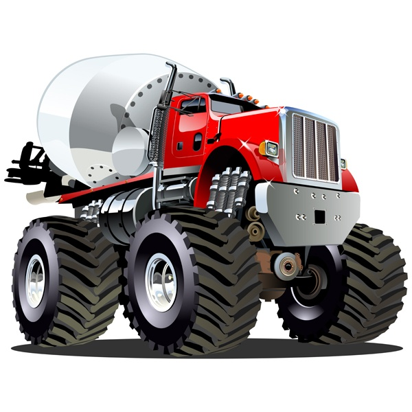 Stickers pour enfants: Monster Truck 22