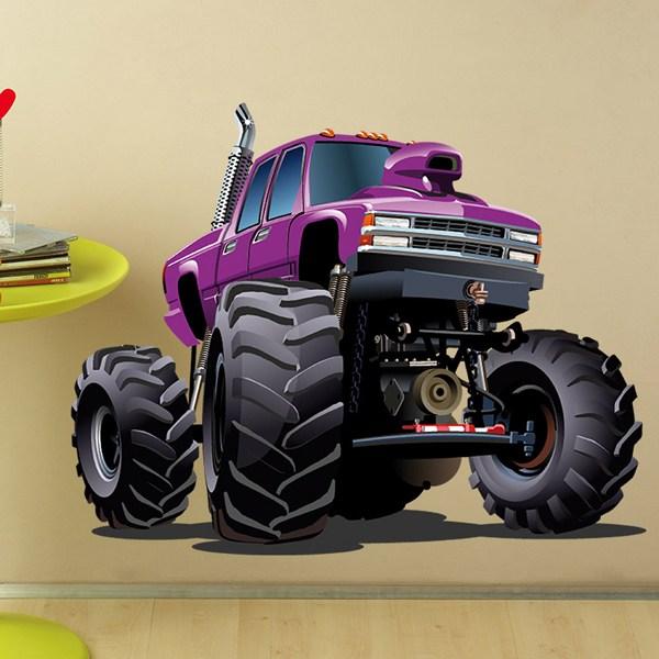 Stickers pour enfants: Monster Truck 3
