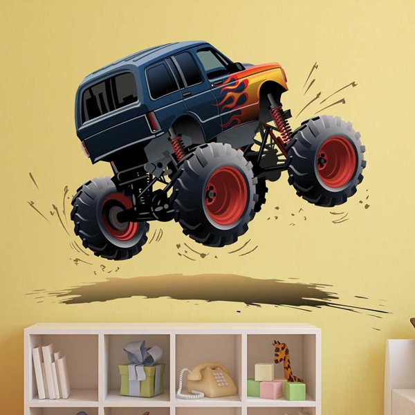 Stickers pour enfants: Monster Truck 11 1