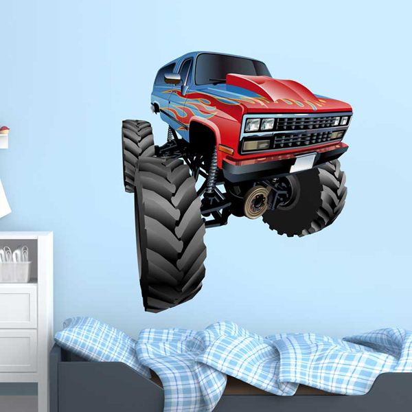 Stickers pour enfants: Monster Truck 9