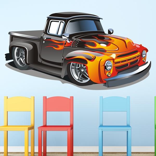 Stickers pour enfants: PickUp personnalisée 2