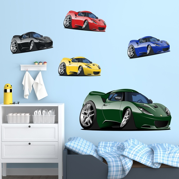Stickers pour enfants: Sports Kit de voiture