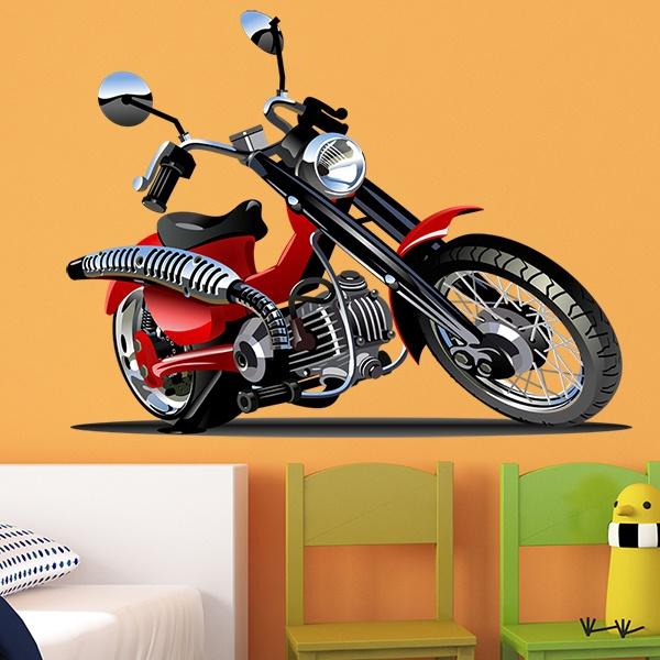 Stickers pour enfants: Moto Harley 3