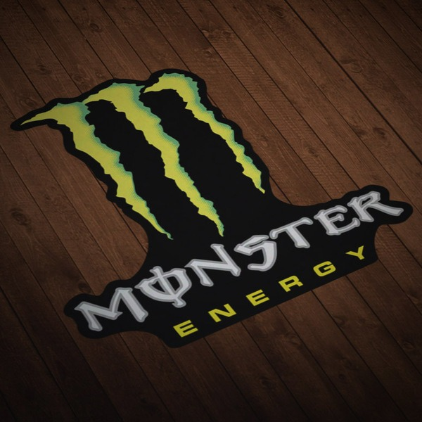 Autocollants: Monster 2