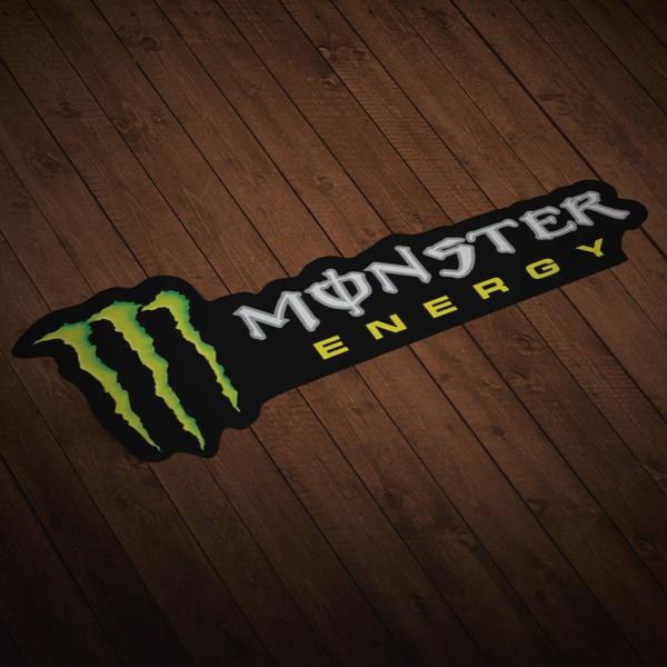 Autocollants: Monster