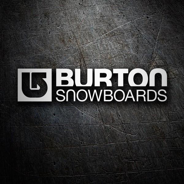 Autocollants: Burton Snowboards