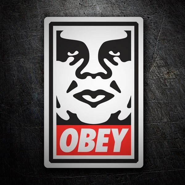 Autocollants: Obey