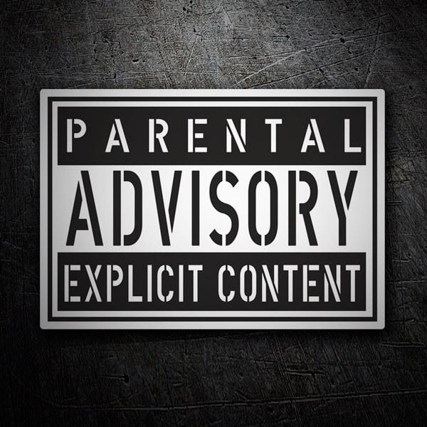Autocollants: Parental Advisory Explicit Content