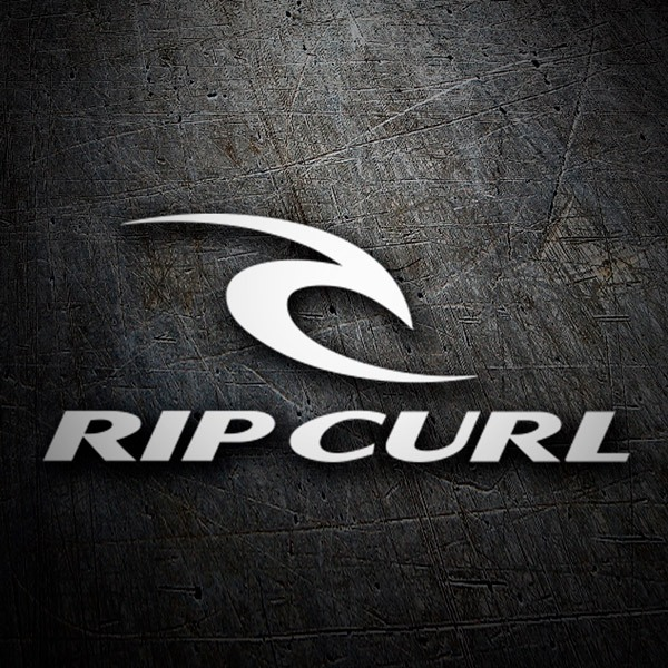 autocollant skate surf rip curl. Black Bedroom Furniture Sets. Home Design Ideas