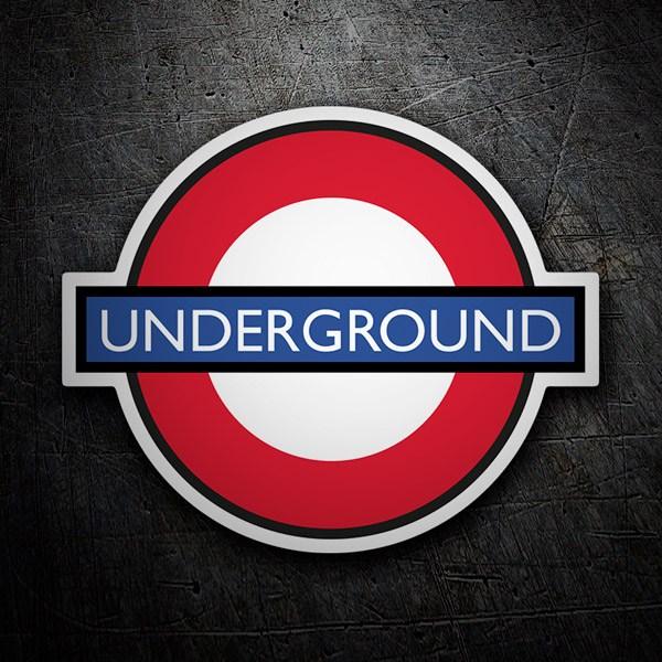 Autocollants: Underground