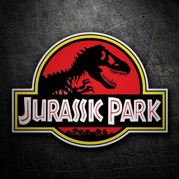 Autocollants: Jurassic Park