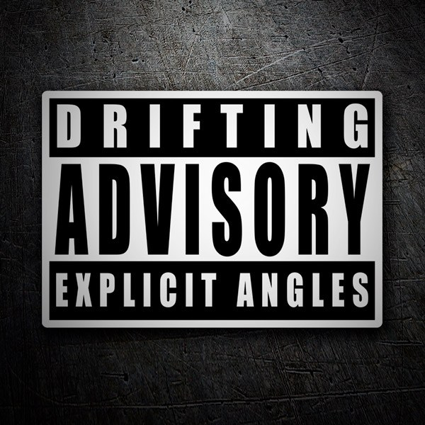 Autocollants: Drifting Advisory Explicit Angles