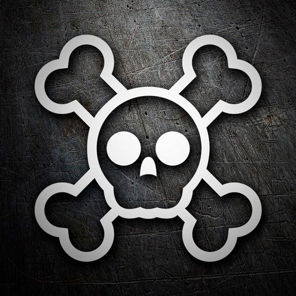 Autocollants: Monster High Skull