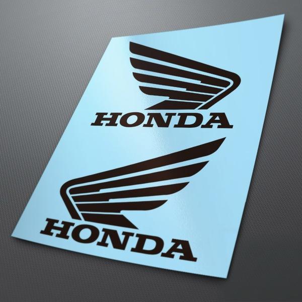 Autocollants: Kit Honda Ailes réservoir