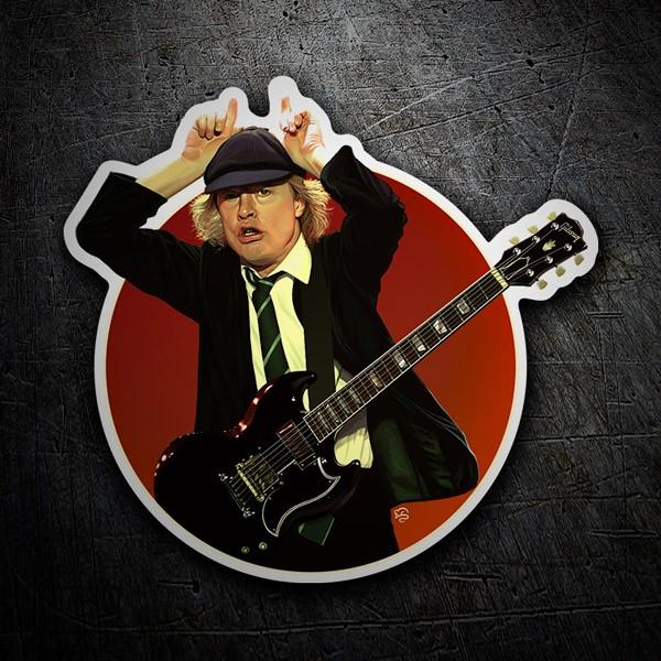 Autocollants: Angus Young