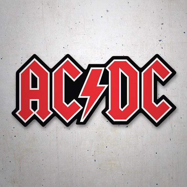 Autocollants: Sticker AC/DC