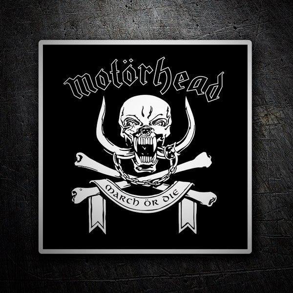 Autocollants: Motörhead logo