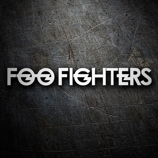 Autocollants: Foo Fighters 0